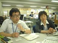 横浜市開港150周年・創造都市事業本部の松村さんと野田さん