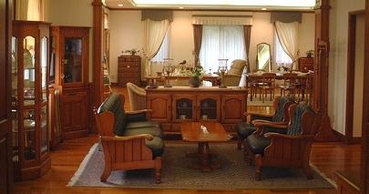 ダニエルの横浜洋家具で構成されたモデルルーム