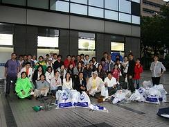 関内地区清掃ボランティア活動での成果