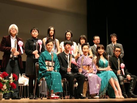昨年の日本映画を牽引したスターたちが勢揃い