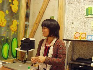 参加作家のひとり、石垣さん
