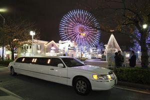 横浜の美しい夜景を豪華リムジンで満喫