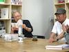 「街を歩けば人にあたる」~よこはま 本への旅~ ツブヤ大学BooK学科ヨコハマ講座:8限目 新聞記者・佐藤将人さんと漫画家・清野とおるさんをお迎えして