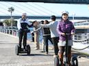 横浜で初のセグウェイ実験ツアーが人気  イノベーション加速へ6年目の正念場