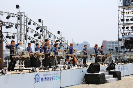 横浜開港祭2015でのパフォーマンス