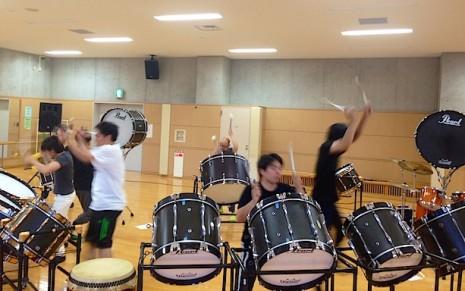 練習の様子