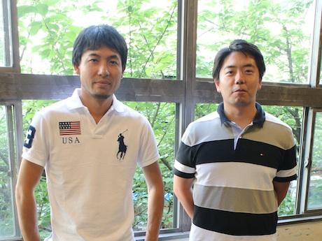夏井洋平さんと吉岡謙太郎さん