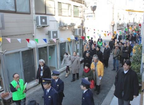 「バイバイ作戦」10周年記念式典