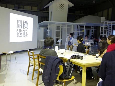 ハンマーヘッドスタジオ 新・港区で行われたトークイベントの様子