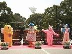 「日本大通り アート&フラワー・フェスティバル」での投票を呼びかけるキャンペーン