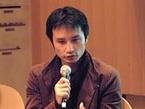 KOTOBUKI選挙へ行こうキャンペーン実行委員会代表の岡部友彦さん