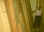 材料として使用する木材
