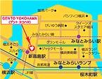 GENTO YOKOHAMA周辺地図
