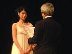 最優秀新人賞を受賞した上野樹里さん