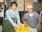 横浜市都心部整備課の緒賀道夫さんと榊さん