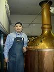 ビール釜と榊さん
