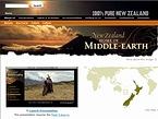 ニュージーランド観光局 ロード・オブ・ザ・リング 特集ページ