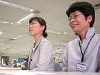 横浜市市民活動支援センター事務局長の吉弘さんと事務局次長の山田さん