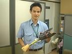 木村義肢工作研究所営業部の北川さん