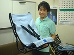 木村義肢工作研究所制作部の長谷川さん