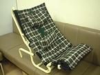 折りたたみ式座位保持装置「どこでもチェア」