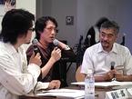 木炭画アニメ作家の辻さんを迎えての公開収録