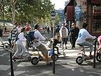 欧州カーフリーデー 自転車で街を散策