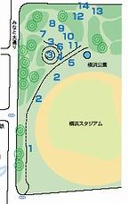 横浜カーフリーデー2005の会場地図