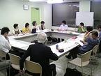 実行委員会の会議風景