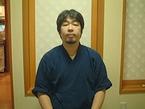 3代目当主の山菅浩一郎さん