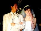 赤レンガパークで挙式を行ったカップル