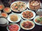あらゆる種類の中国料理が味わえる